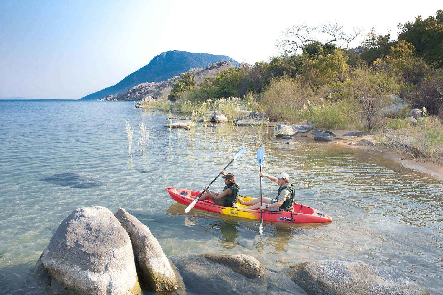 lake malawi national park malawi-national-parks-reserves-malawian-style-malawi-adventures-experiences-specialist-tour-operator-kayaking-pumulani