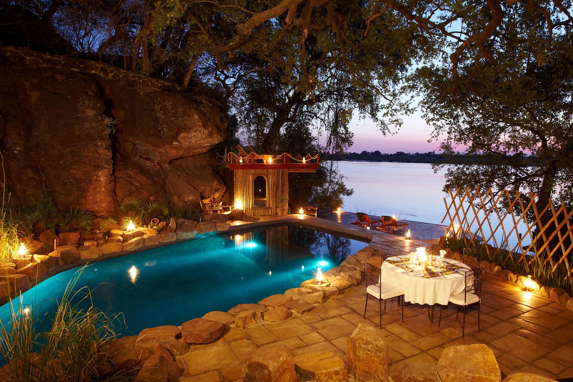 zambia zambian-explorer-livingstone-lower-zambezi-south-luangwa-8-nights-malawian-style-malawi-adventures-experiences-specialist-tour-operator-tongabezi-lodge-pool