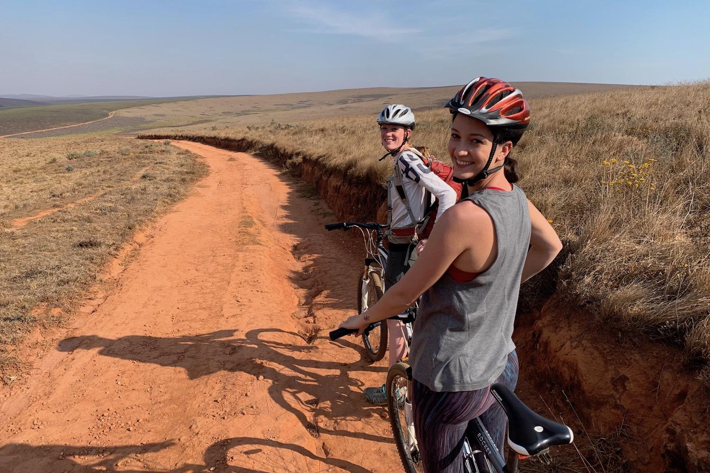 cycling around nyika