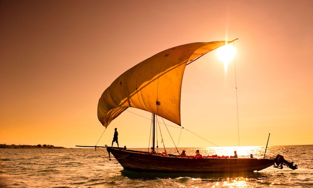 cape maclear dhow