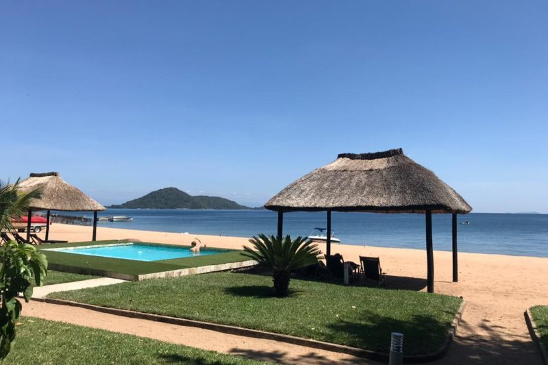 chembe eagles nest lodge-lake-malawi-lodges-malawian-style-private-beach-golden-beaches-clear-waters-accommodation-quaint-chalets-pool-views-water