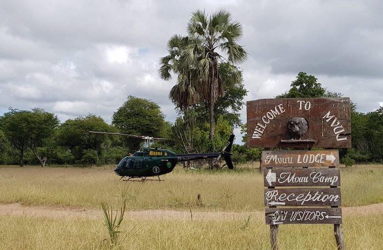 malawi heli ride