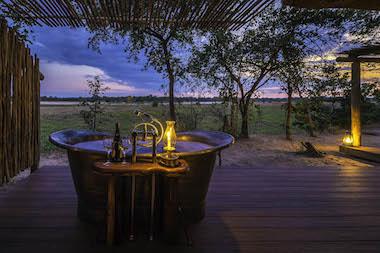 safari camp, zambia